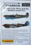X48149  1/48 Fighters Over North Africa and the Mediterranean Pt.1 decals (6)